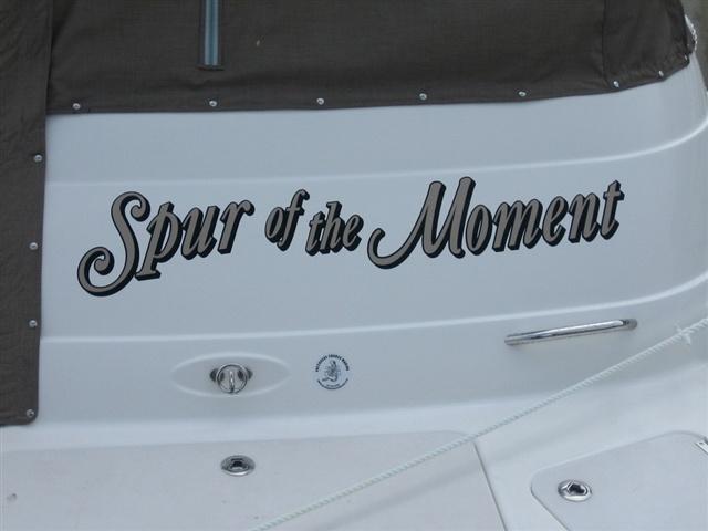 Boat lettering do it yourself vinyl lettering boat for Boat names vinyl lettering