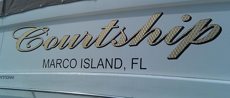 Boat lettering decals names vinyl lettering for Boat names vinyl lettering